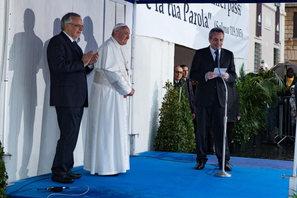 marco-impagliazzo-papa-francesco-50anni-santegidio